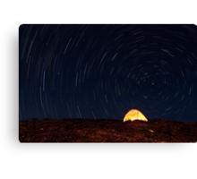 Haleakala Star Trails Canvas Print