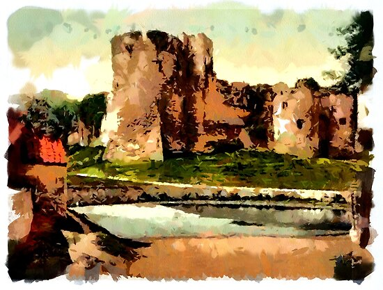 Beautiful Britain - Chepstow, England by Dennis Melling