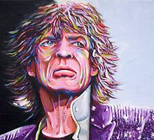 Mick Jagger by Dan Wilcox