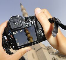 Image of an Image of a Minaret by EyeofLight