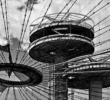 Deteriorating Structure Flushing Meadow Park, Queens by Robert Ullmann