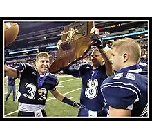 Class 1A Lafayette Central Catholic vs Indianapolis Scecina 10 Photographic Print