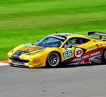 JMW Ferrari F458 No 66 by Willie Jackson
