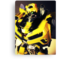 Transformers Bumblebee Toy Canvas Print
