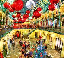 A Festive Covent Garden - HDR by Colin J Williams Photography