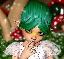 Little Faerie Model 2 by Junior Mclean