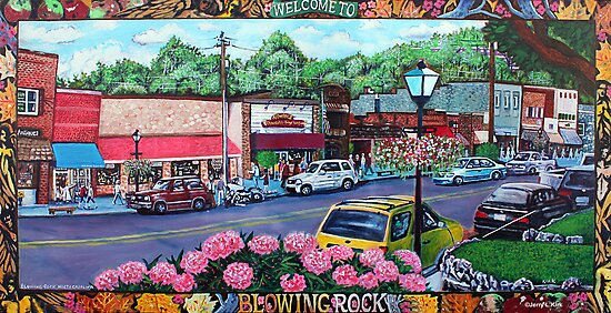 'Downtown Blowing Rock' by Jerry Kirk