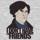 I Don't Have Friends by pigbee