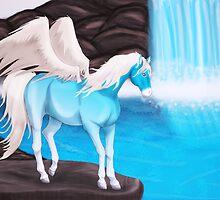 Crystal Waterfall by Palomino1234