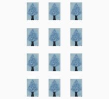 Snow Tree Mini Stickers by Amy-Elyse Neer