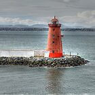 Poolbeg 2 Lighthouse  by Ferdinand Lucino