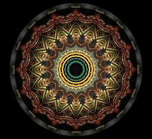 Mandala - Deco by Christopher Marshall