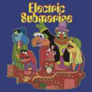 Electric Submarine (The Muppets / The Beatles) by James Hance