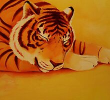 Sleeping Tiger by Ashley Bauer