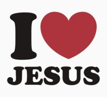 """I Heart Jesus"" by CreativoDesign"