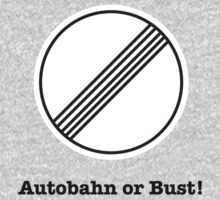 Autobahn or Bust! Kids Clothes