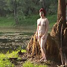 Nude by the meadow lake by Jim  Paredes