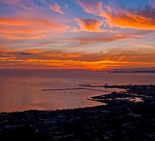 Townsville Sunrise - From Castle Hill by Paul Gilbert