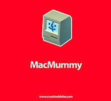Mac Mummy iPhone Case by creativebloke