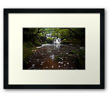 Somersby Falls 20/12/2011 Framed Print