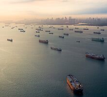 Singapore Ghost Fleet by polymu