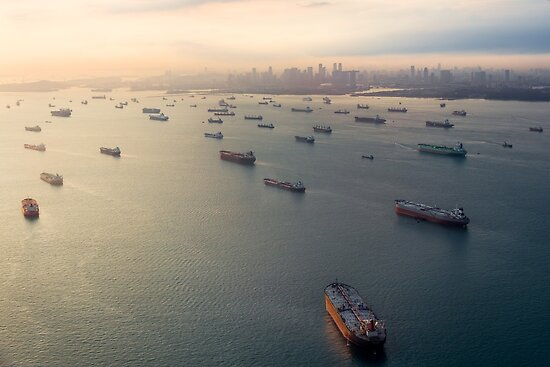Singapore Ghost Fleet by polymu
