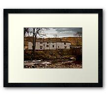 George Inn - Hubberholme Framed Print