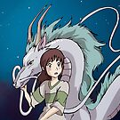 Spirited Away by nellmeowmeow