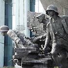 Warsaw Memorial  3, Poland by Sue Ballyn