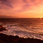 Cape Cornwall sunset by Robert Down