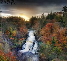 Falls Of The Clyde by Staja-6655321