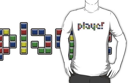 TETRIS 'PLAYER'! by Dope Prints