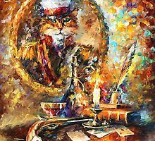 OLD GENERAL - LEONID AFREMOV by Leonid  Afremov