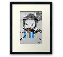 gag Framed Print
