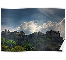The Castle on the Rock Poster