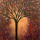Impression of Autumn Tree by Diana Plaisance