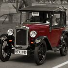 Austin 7 1930 by Geoffrey Higges