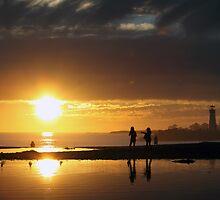 Twin Lakes Sunset by ChrisHarrell