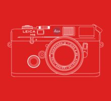Leica M6 T Shirt by David Jenkins