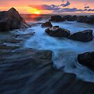 Sunrise at Forresters Beach by Arfan Habib
