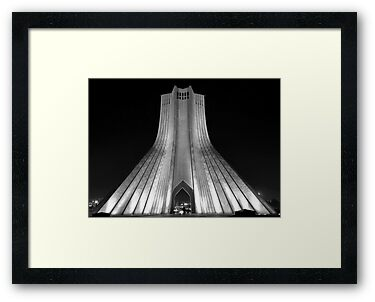 Azadi Tower (Freedom Tower) -Tehran - Iran by Bryan Freeman