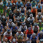 Sea of Cyclists by RobsVisions