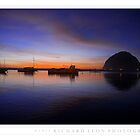 Morro Rock  •  Sunset  •  Twenty Twelve by Richard  Leon