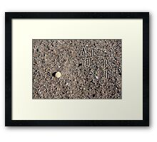 The Spice of Life Framed Print