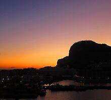 Gibraltar at Dawn, the second pillar of Hercules by buttonpresser