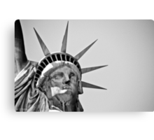 Lady Liberty Canvas Print