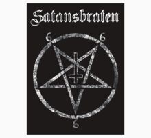 Satansbraten (german version) Sticker by Bela-Manson