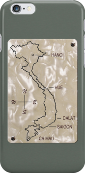 Vietnam Pearl Map by ubiquitoid