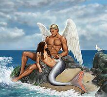 A Bird May Love A Fish by dashinvaine