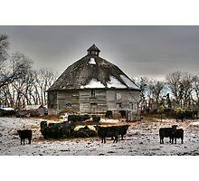 10 Sided Barn Photographic Print